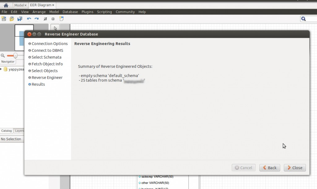 Screen : Install MySql Workbench in Ubuntu 12.04