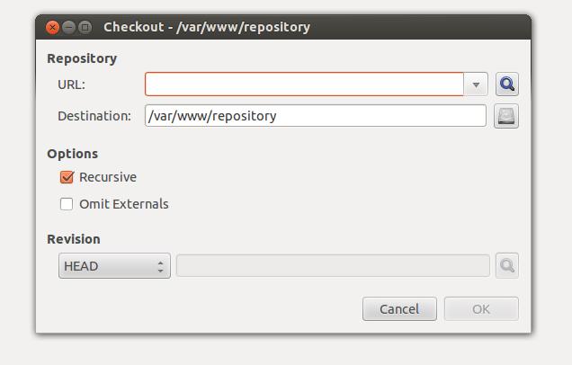 install svn client in ubuntu 12.04